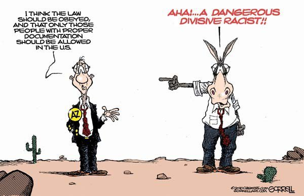 Arizona bias toon
