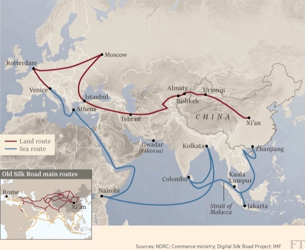 New Great Silk Roads
